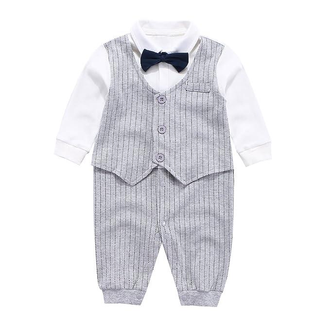a6ed54ac7b50 cool elves - Ropa Bebés Niños de Bautizo Mono Romper para Bebés de 3-18  Meses con ...