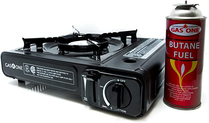Case Details about  /3000W Portable Outdoor Camping Gas Stove Burner Foldable Picnic Mini Steel