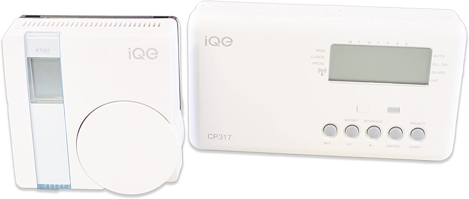 iQE CP318 1 Channel 7 Day Z-Wave Time Control /& RF Room Thermostat