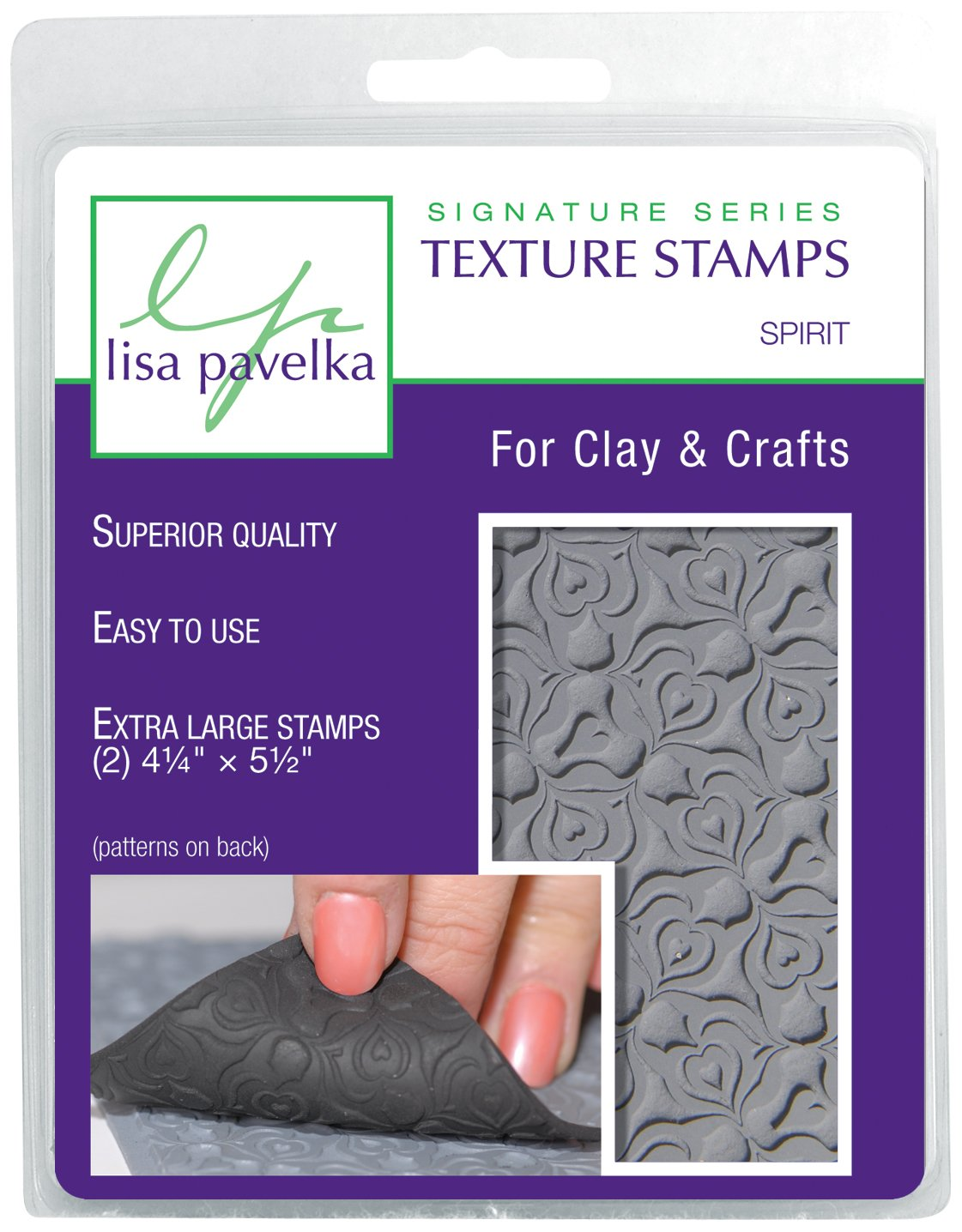 JHB International Inc Lisa Pavelka 327021 Texture Stamp Kit Spirit