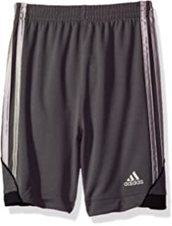 ef30cbdcd9e9 Amazon.com: Adidas Boys' Little Athletic Short, Dark Gray, 5: Clothing
