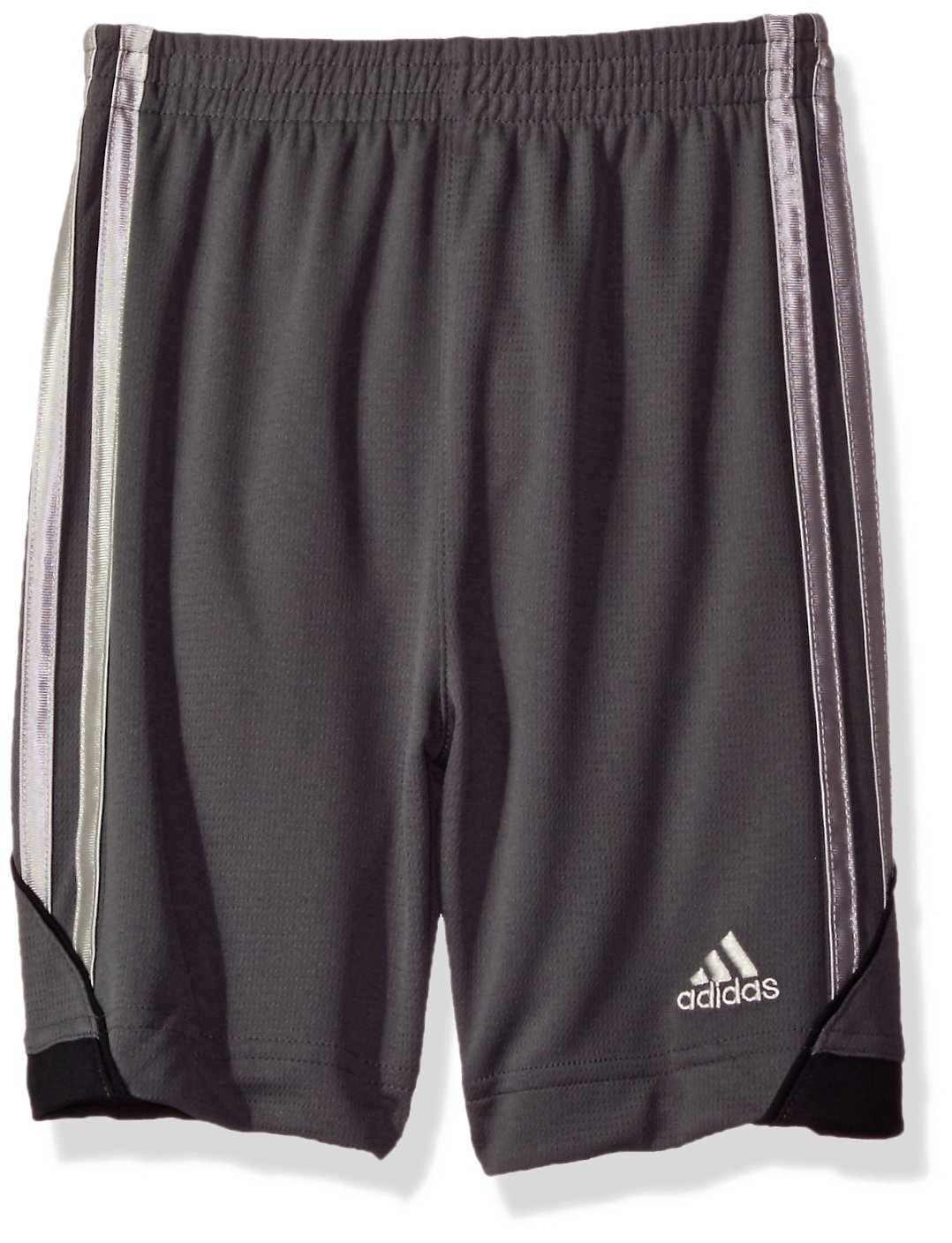 adidas Boys' Little Athletic Short, Dark Gray 6