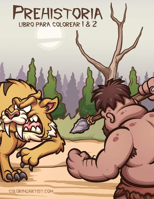 Prehistoria libro para colorear 1 & 2: Amazon.es: Snels, Nick: Libros