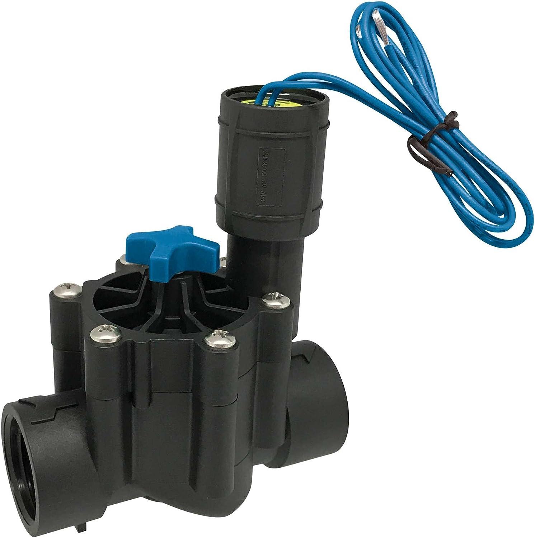 AQUA CONTROL Q160C - Electroválvula de riego con rosca hembra de 1