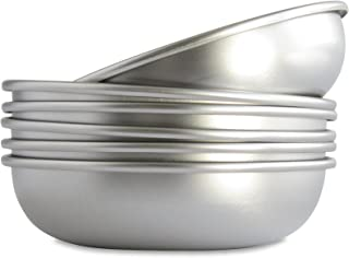 product image for Basis Pet Made in The USA Low Profile Stainless Steel Cat Dish