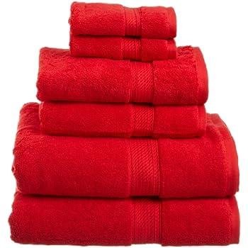Superior 900 GSM Luxury Bathroom 6 Piece Towel Set, Made Of 100% Premium