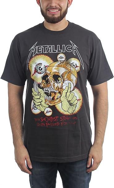 Amazon.com: Metallica – para hombre clásico – Más paja ...