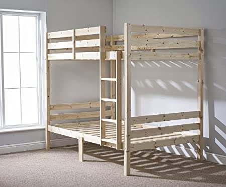 Top DOUBLE Bunkbed - 4ft 6 TWIN Bunk Bed - VERY STRONG BUNK! - Heavy  DB29