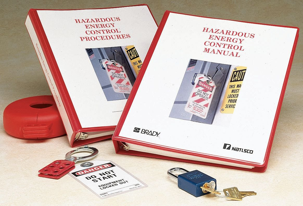 1 Booklet Brady 65558 Lockout COMPLIANCE Manual