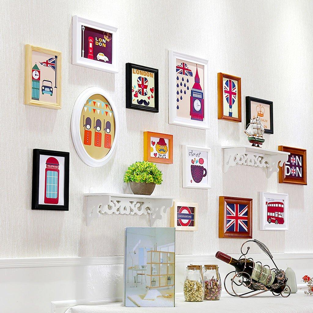 &Dekorative Wände Dekorative Bilderrahmen, 13 Teile/sätze Collage ...