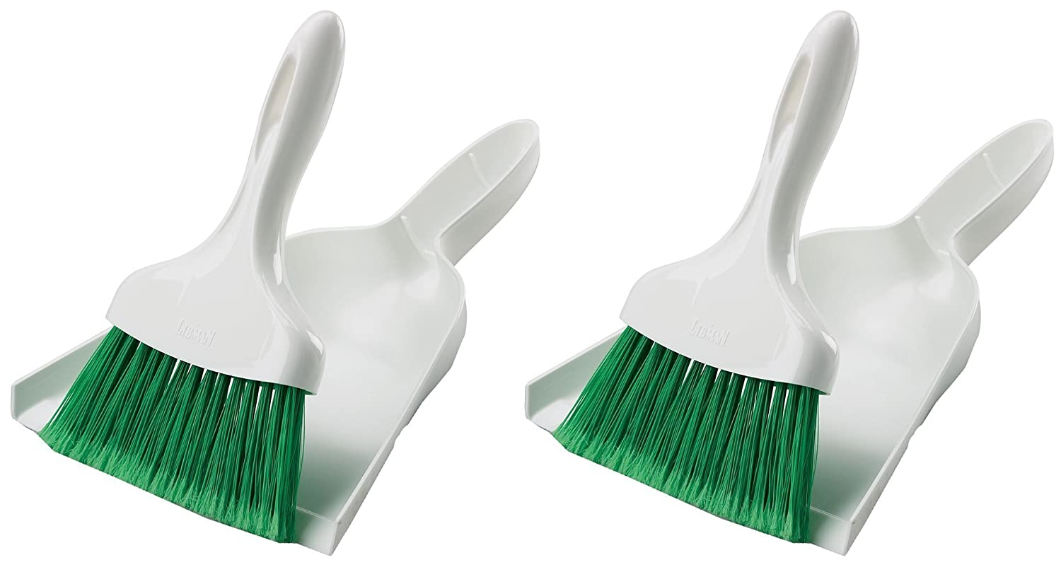 Libman Dust Pan with Whisk Broom (Pack of 2) LIBMAN CO