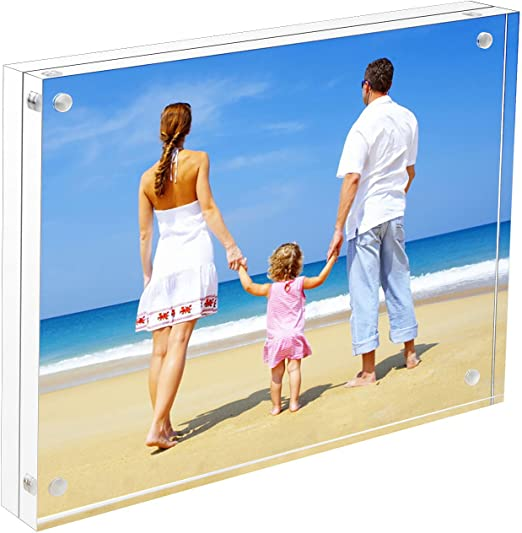 Amazon Com 8x10 Acrylic Frame Niubee Double Sided Magnetic Photo Frames With Gift Box Package,Beautiful Bedding For Master Bedroom