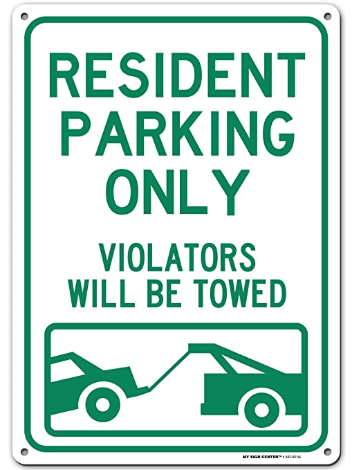 Details about  /Burnie/'s Parking Only All Others Will Be Towed Custom Novelty Aluminum Sign