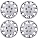 "Wheel Trims Set (4) 15"" VAUXHALL MERIVA 03- Covers + Valve Caps & Ties"
