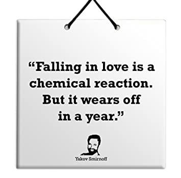 Amazoncom Falling In Love Is A Chemical Reaction But It Wears Off