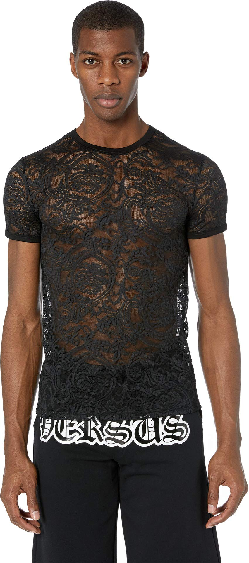 Versace Men's Underwear T-Shirt Black 6