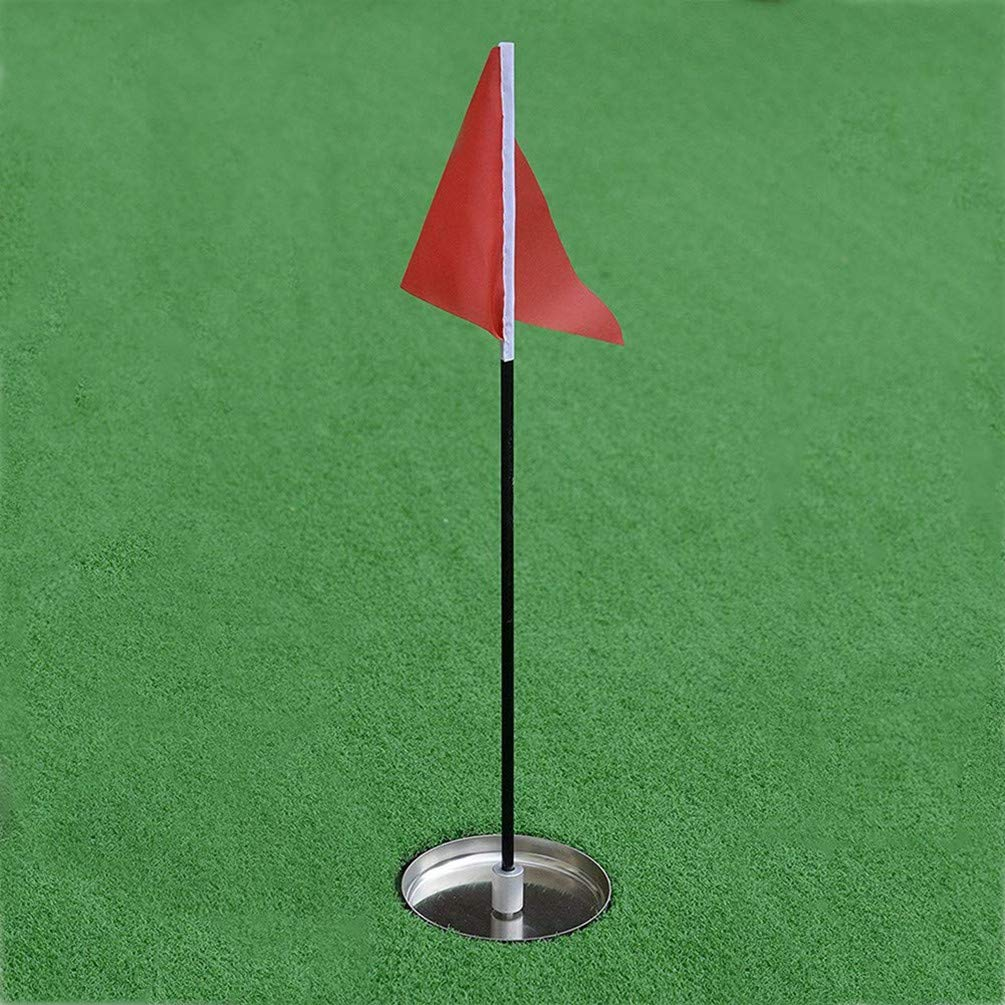 77tech Mini Golf Hole Cup&Flag for Golf Putting Green by 77tech