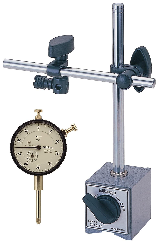 Mitutoyo 64PKA079 - Soporte magnético con indicador de dial, 2,5 cm, graduación de 0,025 mm: Amazon.es: Amazon.es