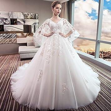 YT-ER Vestido de Novia de Su Madre de Gran Tamaño Princesa Final Sueño Vestido