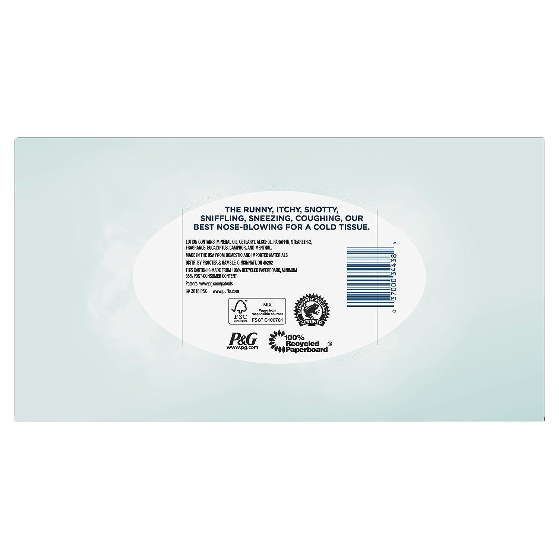 12d382ff123b3 Amazon.com  Puffs Plus Lotion with Vicks Facial Tissues