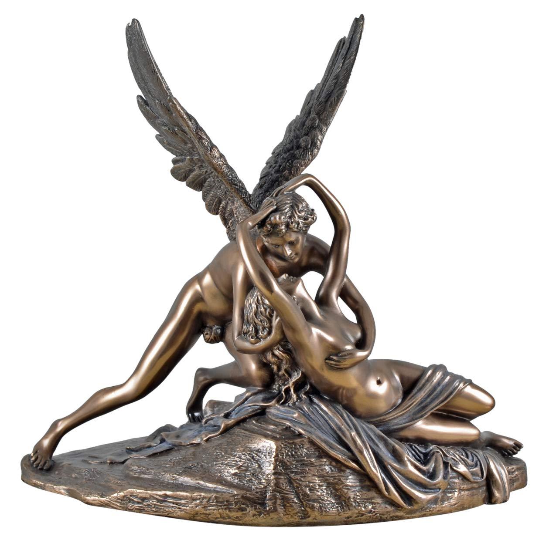 Veronese 708-7377 Figur Amor und Psyche v. A.Canova Skulptur Antike Kunst