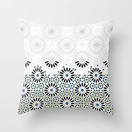 Amazon.com: Lttedeng Pillowcases Alhambra of Granada Square ...