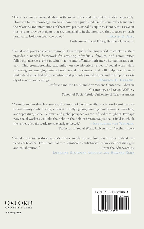 social work and restorative justice skills for dialogue social work and restorative justice skills for dialogue peacemaking and reconciliation elizabeth beck nancy p kropf pamela blume leonard