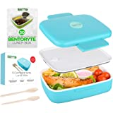 BentoRyte Bento Box with Accessories and Free eBook | Lunch Bento Boxes for Adults and Kids | Food Prep Containers for…