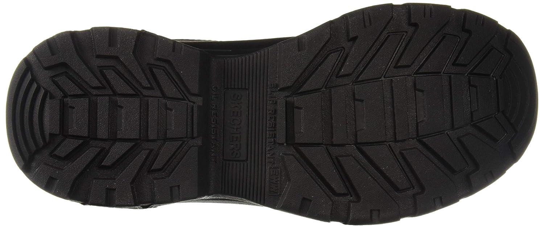 c2fa5418cf0df Skechers Men's Morson- SINATRO Hiking Boot, Black, 14 Wide US:  Amazon.co.uk: Shoes & Bags