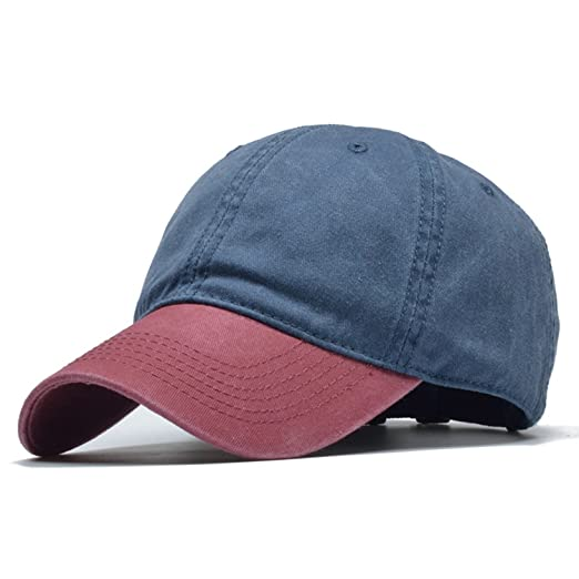 Yamed Baseball Cap Men and Women Dad Hat 100% Cotton Gorras Para Hombre Snapback Caps Fitted Hat at Amazon Mens Clothing store: