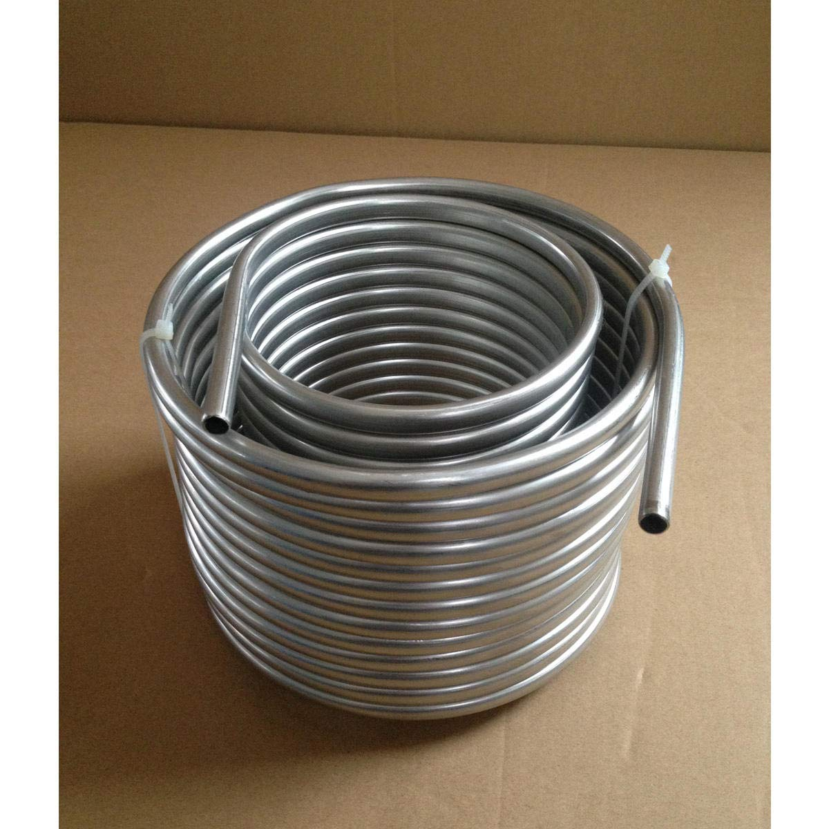 Cooling Coil Pipe, SENREAL Super Efficient Stainless Steel Cooling Coil Home Brewing Wort Chiller Pipe-#1 by SENREAL (Image #2)