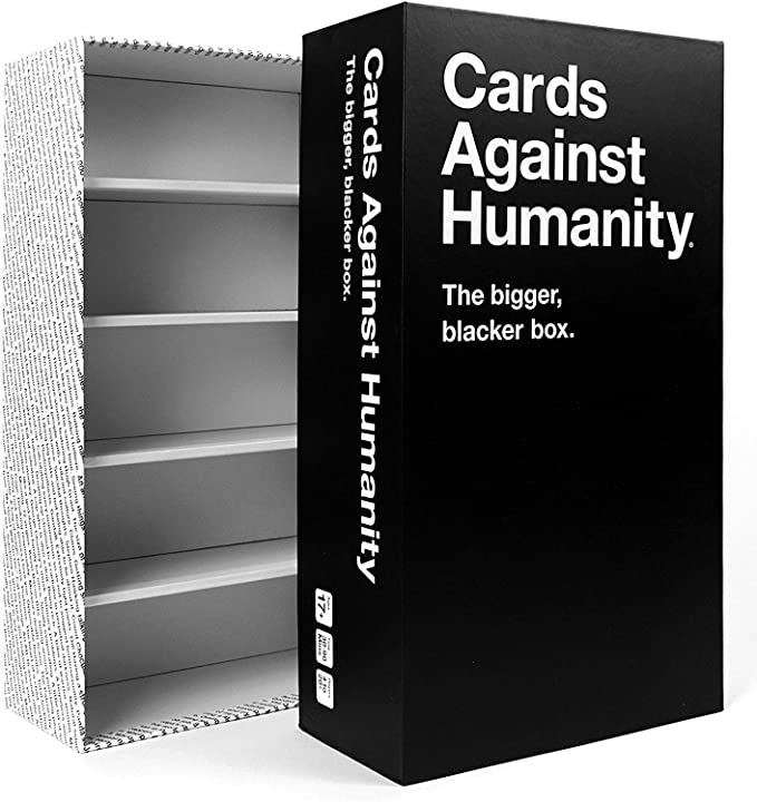 No Box Cards Against Humanity Cards from the bigger blacker box only