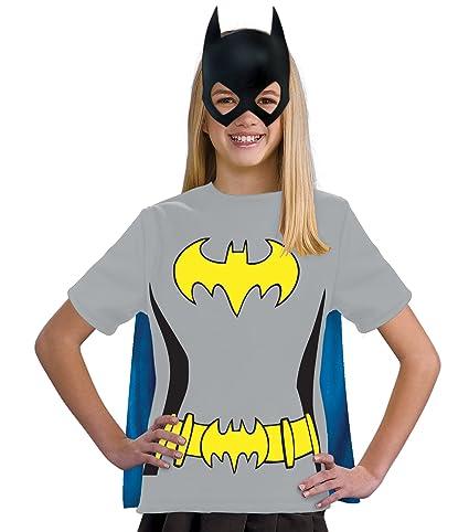 Justice League Childs Batgirl 100% Cotton T-Shirt - Medium