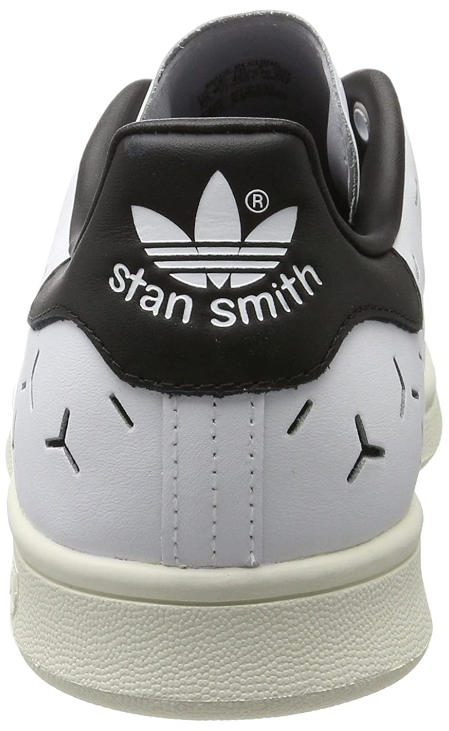 Adidas Damen Stan Smith Weiß/Core Sneaker Weiß (Footwear Weiß/Footwear Weiß/Core Smith schwarz) ef30c3