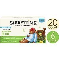 Celestial Seasonings Wellness Tea, Sleepytime Detox, 20 Count (Pack of 6)