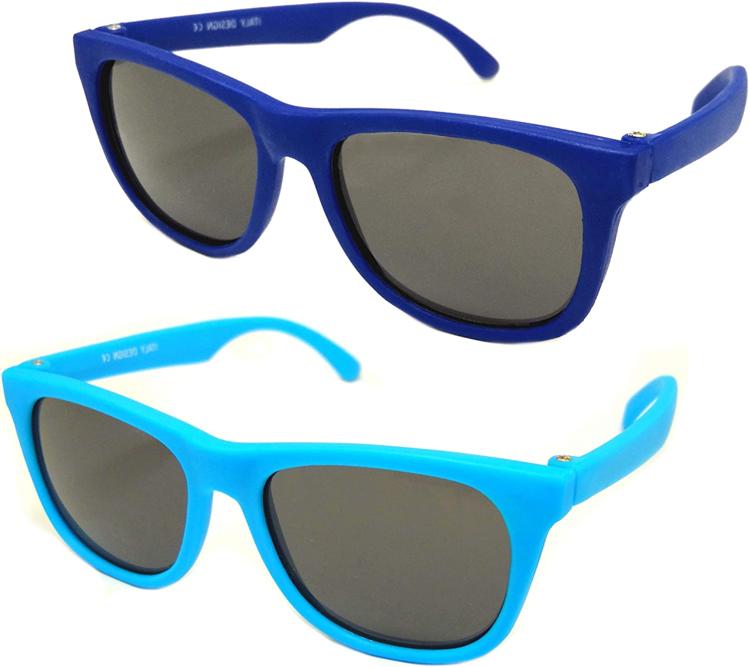Best First Sunglasses for Infant and Baby Age 0-1 Year. Vintage 2 Pack
