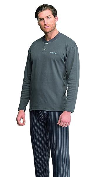 Pijama Caballero Invierno (espesor medio) De Assman(fabricado en España) 7923: Amazon.es: Ropa y accesorios