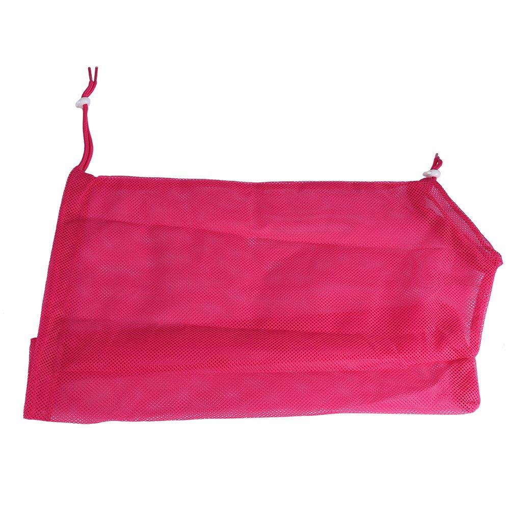 Yosoo Pet Cat Dog Grooming Washing Bath Restraint Bag Anti-Scratching Biting Polyester Mesh Bag For Pet Care Nails Trimming Cleaning Feeding Multifunctional Pet Supplies, Pink