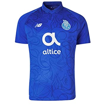 7a9ab5854 New Balance FC Porto Men s Third Kit Replica T-Shirt 2018 19  Amazon ...