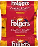 FOLGER'S Classic Roast Coffee Regular Flavor Filterpack, 0.9-Ounce Boxes (Pack of 40)