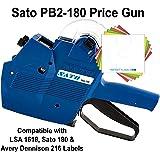 Sato Price Gun: TSA180 (PB2-180) [2 Line / 8/8 Characters]