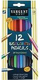 Sargent Art 22-7202 12-Count Bi-Colored Pencils Set