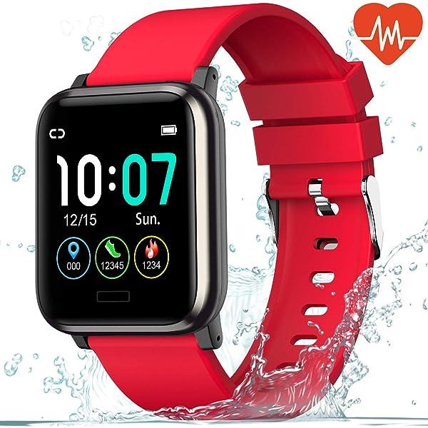 naack Pulsera Actividad, smartwatch, Reloj Inteligente ...