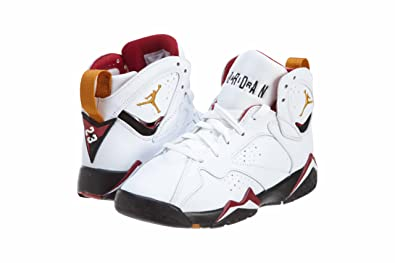 separation shoes d2adf e834e Air Jordan 7 Retro (Gs) 304774-104 (WHITE BRONZE-CARDINAL