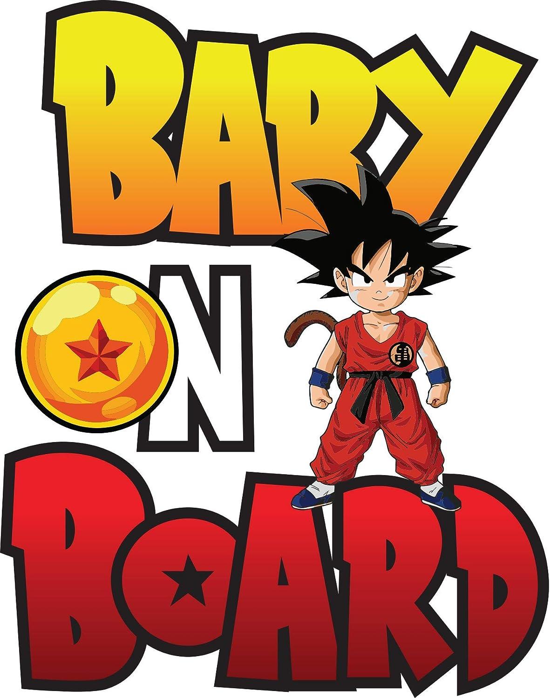 """Dragon Ball Z DBZ  Funny Vinyl Decal Sticker Car Window bumper Wall Boat 6/"""""""