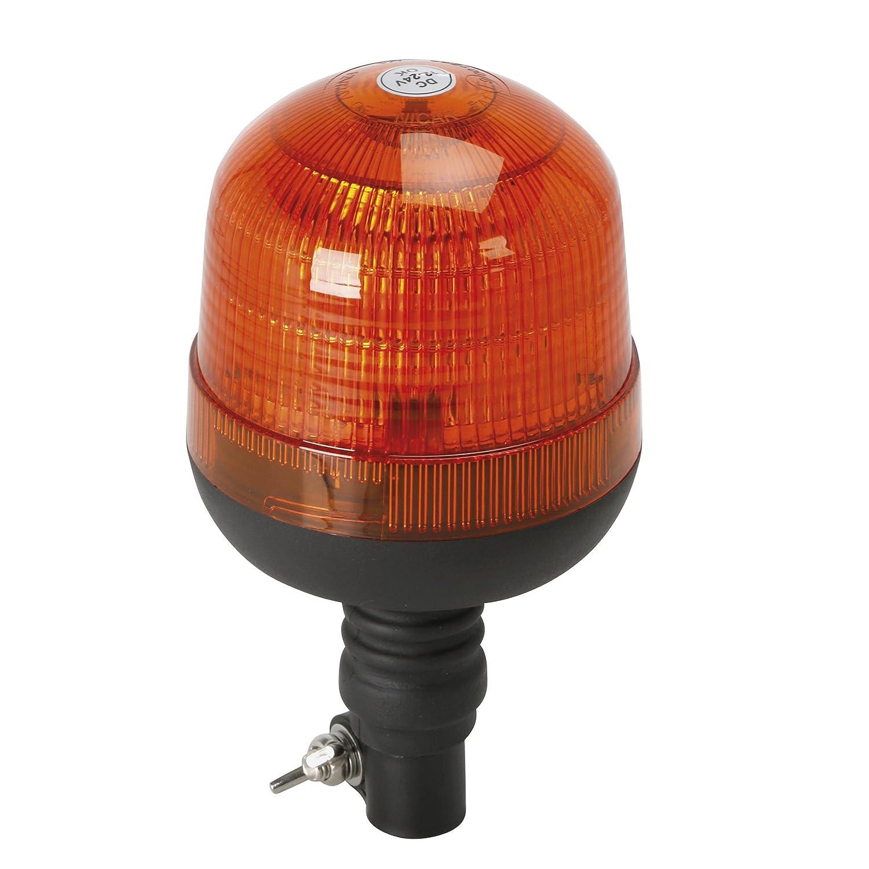 Gyrophare Gyroflash pour fixation sur tige 12 et 24 volts Turbocar