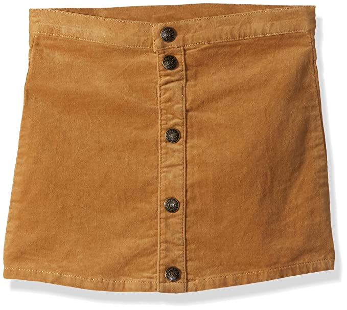 4c11e36abf99 Amazon.com  Crazy 8 Girls  Toddler Snap Front Faux Suede Skirt  Clothing