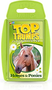Horses & Ponies Top Trumps Card Game