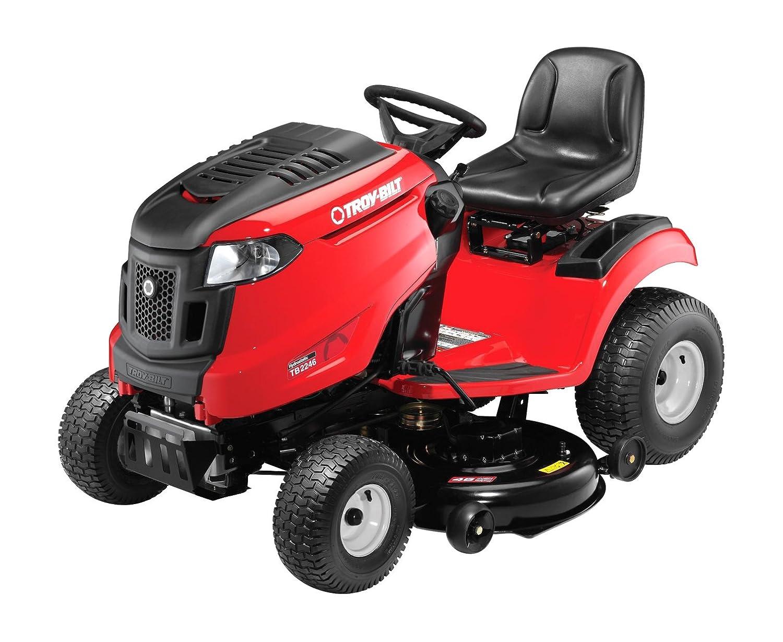 Amazon.com : Troy-Bilt TB2246 22HP/656cc Twin Cylinder Foot Hydro  Transmission 46-inch Riding Lawn Tractor : Garden & Outdoor