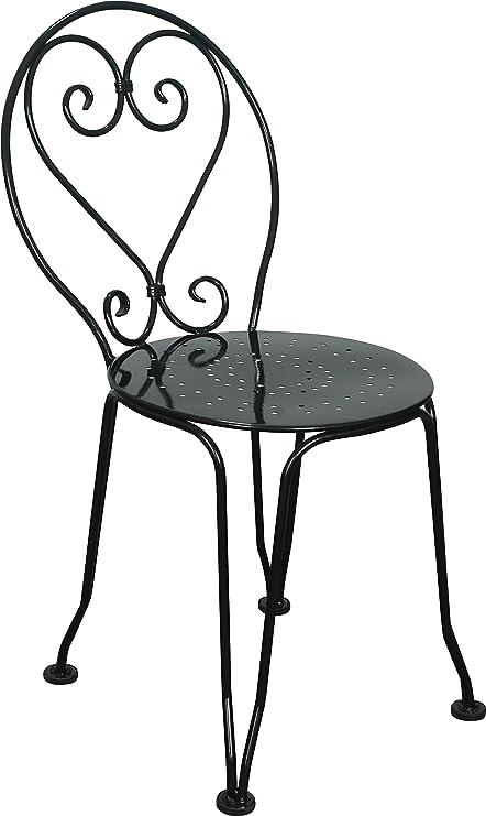 27dd3199dcee Amazon.com   Mobel Designhaus French Cafe Bistro Ice Cream Chair ...